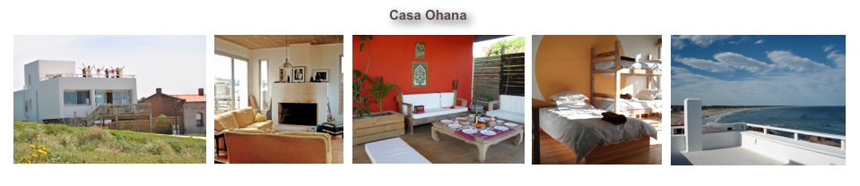 Casa Ohana, La Pedrera, Uruguay