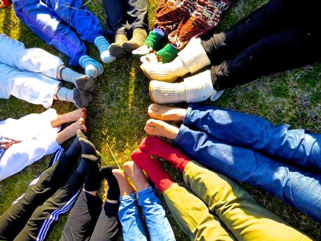 Chakra Colectivo de Pies. Diego-Sanchez.com Meditaciones Activas