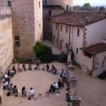 Medieval castle near Siena, Italy