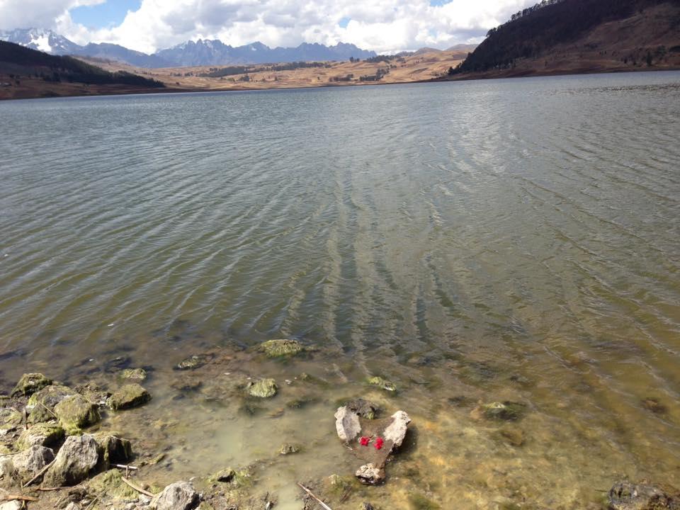 lago Huaypo ofrenda