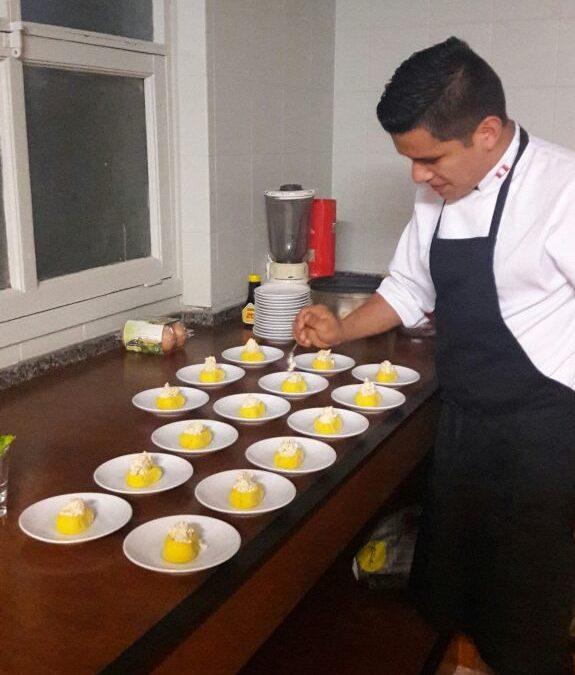 degustación de comida típica peruana
