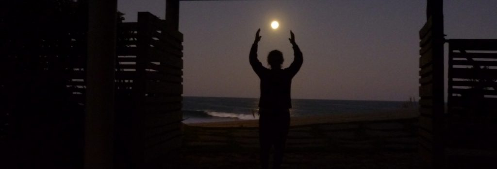 FULL SUPER MOON IN LA PEDRERA, URUGUAY