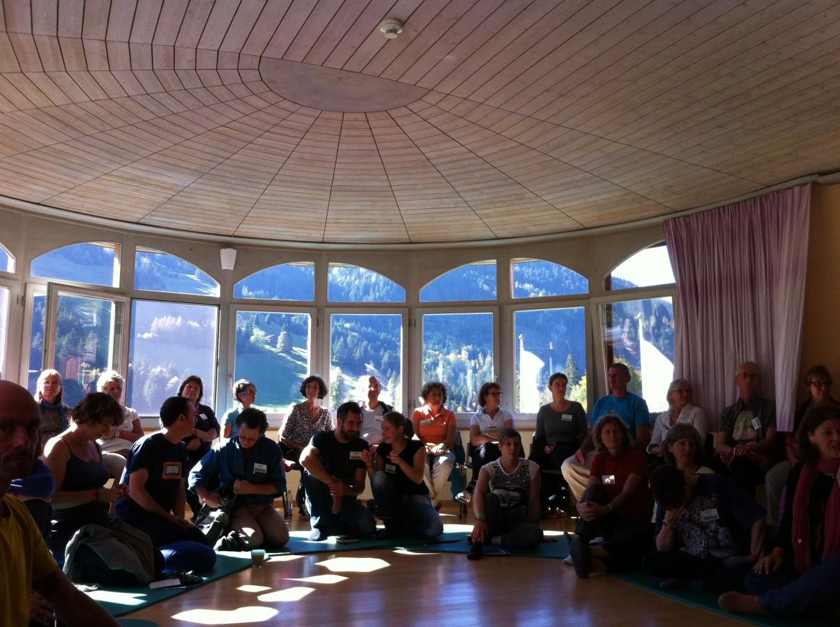 OPEN SPACE INAUGURAL MEETING AT KIENTAL'S EUROPEAN SHIATSU CONGRESS